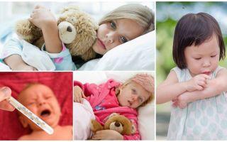 Η θερμοκρασία των δαγκωμάτων κουνουπιών σε ενήλικες και παιδιά