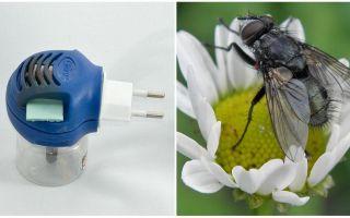 Απολυμαντές από μύγες και κουνούπια στην πρίζα