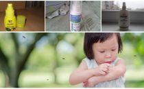 Αποτελεσματικά μέσα κουνουπιών για παιδιά από 1 έτος