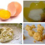 Βορικό οξύ και κρόκοι αυγών