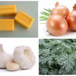 Σαπούνι πλυντηρίου, κρεμμύδι, σκόρδο και αψιθιά