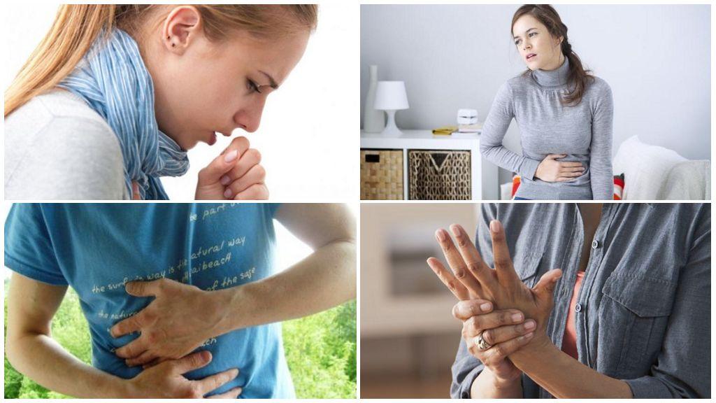 Συμπτώματα της οιστροχειρωσίας